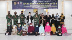 Pelaksanaan Peringatan Maulid Nabi Muhammad SAW 1443 H/2021 M Di Lanud Sim