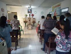 Pengamanan Rutin Di Gereja Pantekosta Desa Tugu, Anggota Polsek Lelea Polres Indramayu Polda Jabar