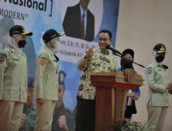 Pesan Gubernur DKI Dipelatihan Lapintrinas Menwa Jayakarta