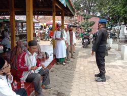 Patroli Harkamtibmas Brimob Jabar Menghimbau Pentingnya Disiplin Menjaga Protokol Kesehatan