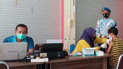 Kembali Satgas Covid-19 Lanud Sim Melanjutkan Serbuan Vaksinasi Di Mall Lambaro Aceh Besar