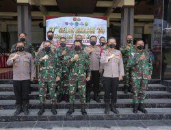 Alumni TNI-Polri Akabri 90 di Aceh, Gelar Serbuan Vaksinasi Covid-19 dan Baksos