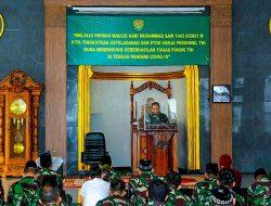 Sing Nyaah Kanu Ngewa, Kodam III Siliwangi Gelar Maulid Nabi Muhammad SAW