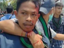 Kepala Kader HMI Mataram Bocor Saat Demo 2 Tahun Jokowi-Ma'ruf Amin, PB HMI Minta Kapolri Evaluasi Kapolda NTB
