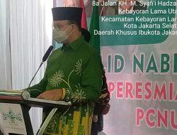 Forkopimko Jakarta Selatan Hadiri Peresmian Gedung Kesekretariatan PCNU Jakarta Selatan