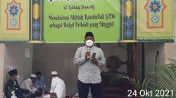 Lurah Cipulir : Maulid Merupakan Refleksi Diri Untuk Meneladani Nabi Muhammad SAW